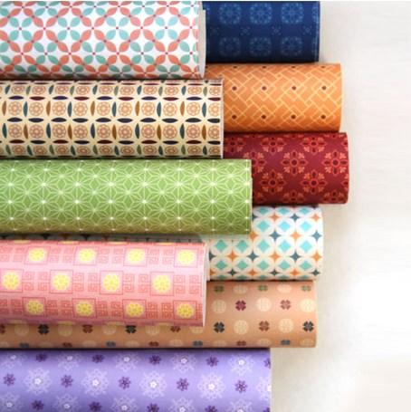 ผ้าสักหลาดเกาหลีลาย Fine Light Traditional size 1mm ขนาด 42x30 cm /ชิ้น (Pre-order)