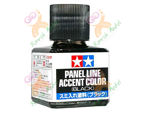 TA87131 Panel Line Accent Color - Black 40ML