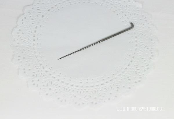 เข็มตำใยขนแกะ Felt wool เข็มหนา ยาว 82mm /อัน (พร้อมส่ง)