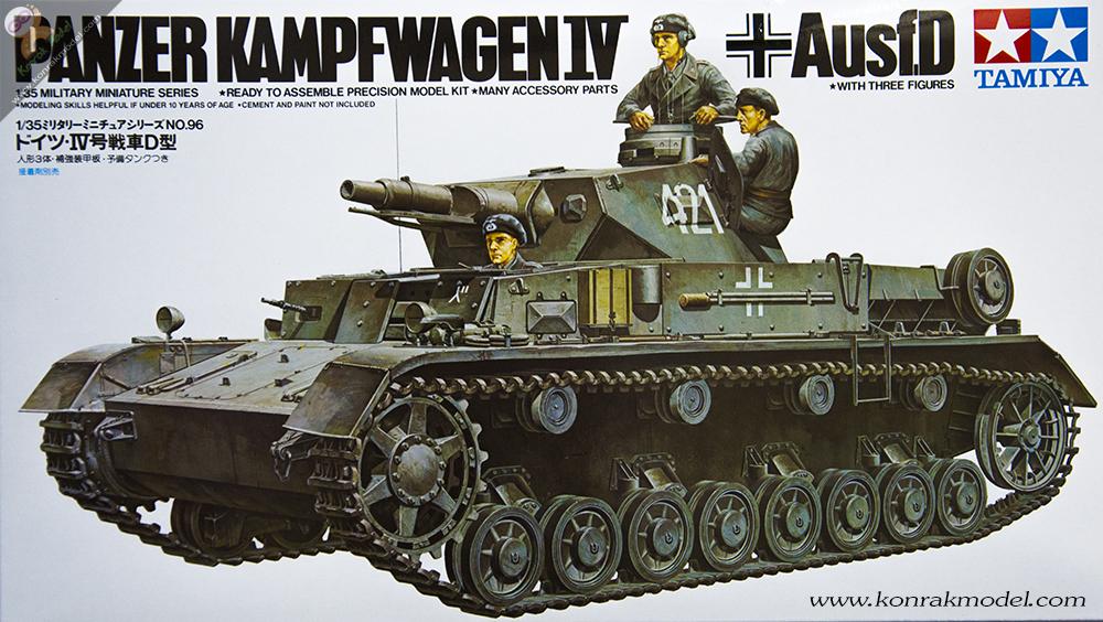 TA35096 German Pzkpw IV AusfD Kit - CA196 1/35