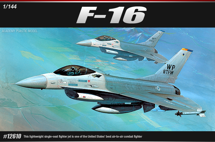 AC12610 F-16 FIGHTING FALCON (1/144)