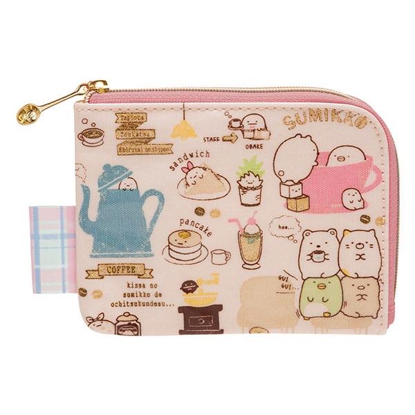 กระเป๋าใส่เหรียญและบัตร Sumikko Gurashi (ร้านกาแฟ)