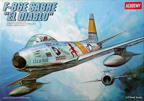 AC1681 F-86E SABRE