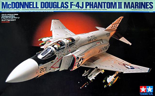 TA60308 1/32 McDonnell F-4 J Phantom II