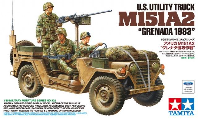 TA35332 US Utility Truck M151A2 (1/35)