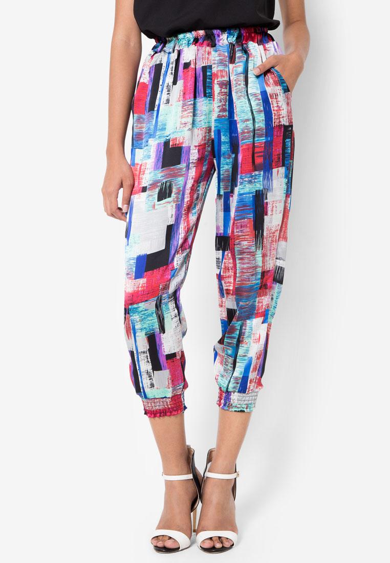 กางเกง Jasmine Colour Tiles Pants