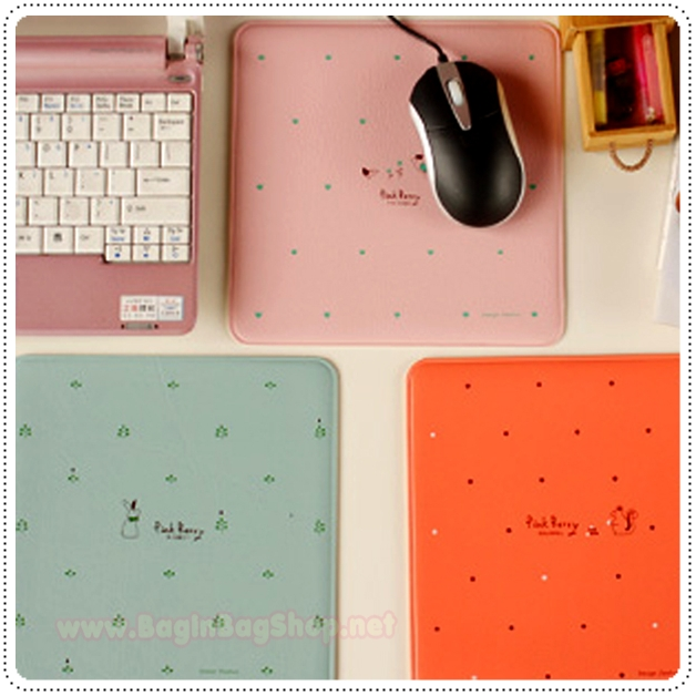 Pink Berry Mouse Pad