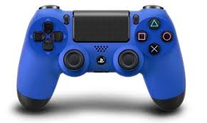 จอย PS4: Dual Shock 4 - Blue [PC/PS4]