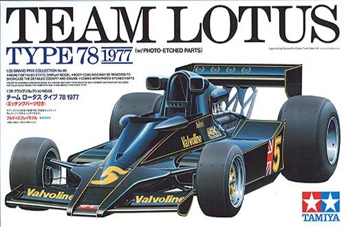 TA20065 LOTUS TYPE 78 1977 1/20