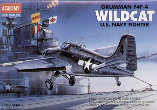 AC12451 GRUMMAN F4F-4 WILDCAT 1/72