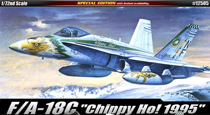 "AC12505 F/A-18C""CHIPPY HO! 1995"" 1/72"