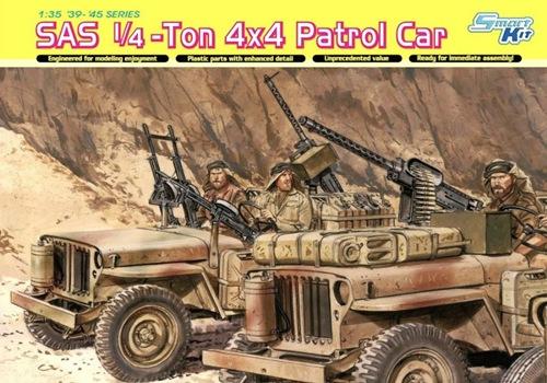 DRA6745 SAS 1/4-Ton 4x4 Patrol Car (1/35)