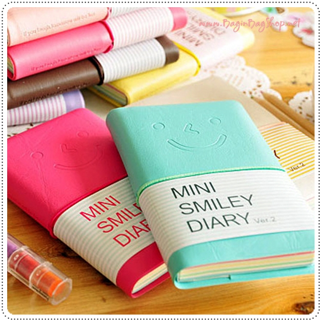Mini Smiley Diary