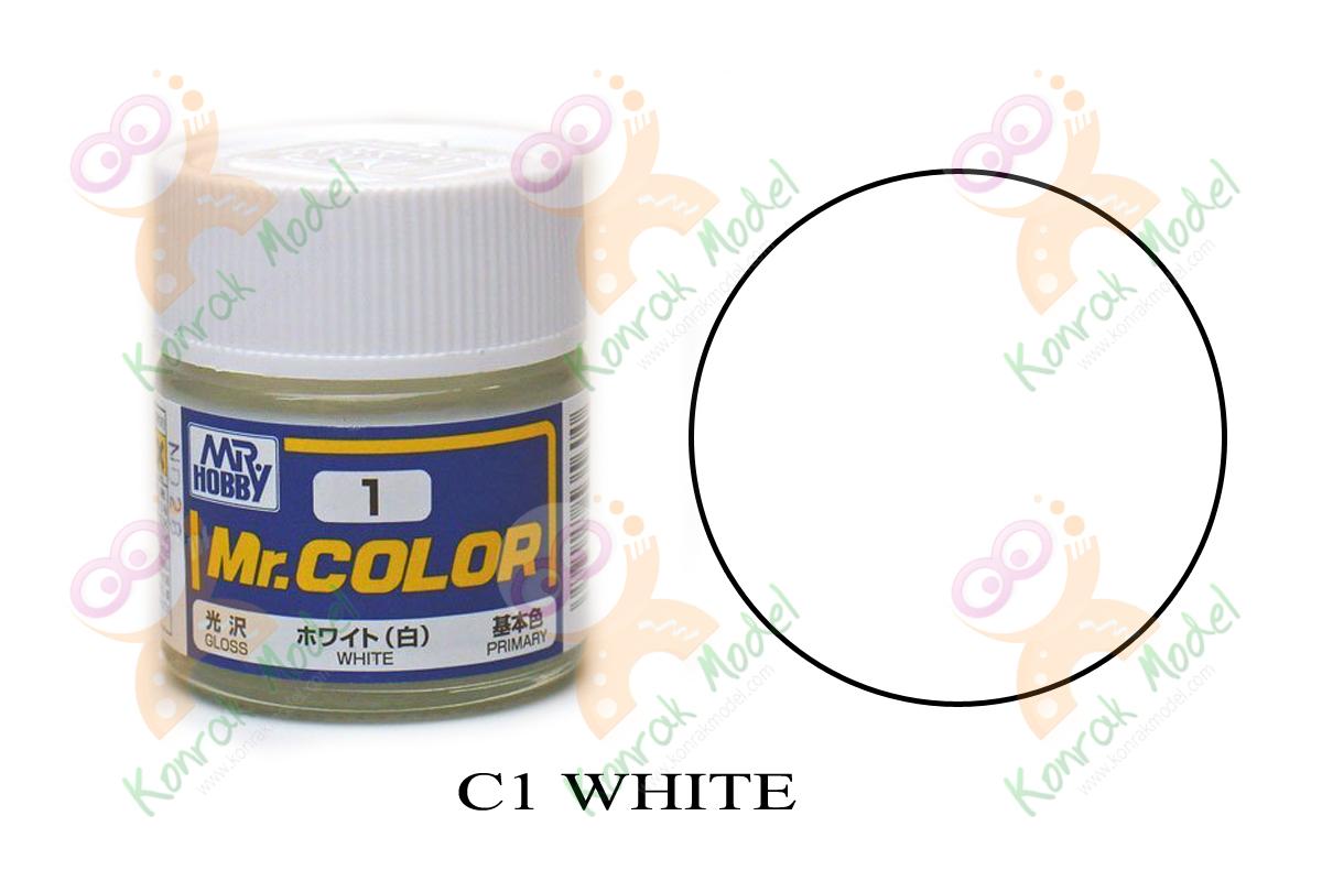 C1 White Gloss 10ml