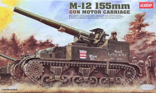 AC1394 M-12 155mm. GUN MOTOR CARRIAGE (1/35)