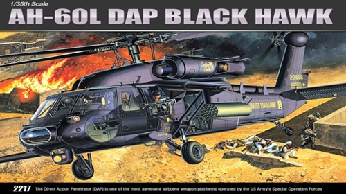AC12115 AH-60L DAP BLACK HAWK (1/35)
