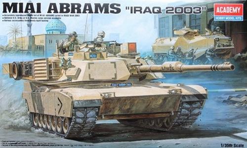 AC13202 M1A1 ABRAMS 1/35