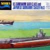 TA31903 U.S. Submarine Gato Class & IJN Submarine Chaser No.13 (2 Sets) 1/700