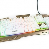 OKER K-86 GOLD KEYBOARD SEMI MECHANICAL GAMING LED