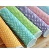 ผ้าสักหลาดเกาหลีลายจุด size dot 1mm ขนาด 45x30 cm /ชิ้น (Pre-order)