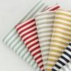 ผ้าแคนวาสเกาหลี ลายเส้น มี 6 Color ขนาด 150x90 cm /หลา ผ้าหน้ากว้างพิเศษ (Pre-order)