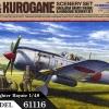 TA61116 IJA Ki-84 Type Fighter Hayate & Kurogane 4WD Diorama Set 1/48