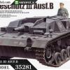TA35281 German Sturmgeschutz III AusfB 1/35