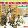 DRA6674 GERMAN BLUE DIV SPANISH VOLUNTEER (1/35)
