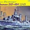 DRA1021 U.S.S.BUCHANAN DD-484,1942 1/350 SCALE
