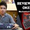 [รีวิว-Review] คีย์บอร์ด OKER K84 ไฟ RGB Mechanical「Blue Switch」