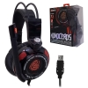 หูฟัง Signo E-Sport HP-816 MONOCEROS 7.1 Surround Sound Vibration Gaming Headphone สีดำ