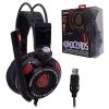 หูฟัง Signo E-Sport HP-816 MONOCEROS 7.1 Surround Sound Vibration Gaming Headphone สีดำ