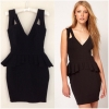 Lipsy black Dress size Uk8