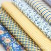 Felt : พิมพ์ลาย ลายPelteuji Blue & Yellow มี 6 ลาย ขนาด 45x30 cm/ชิ้น (พร้อมส่ง)