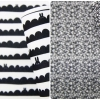 Felt : ลาย Skandia black มี 2 ลาย ขนาด 45x30 cm/ชิ้น (พร้อมส่ง)
