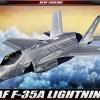 AC12507 Lockheed-Martin F-35A Lightning II (USAAF) 1:72