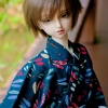 MSD Yukata Set - Midsummer Dragonfly (Aiiro)