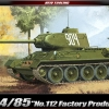 "AC13290 T-34/85 ""No.112 Factory Production"" 1:35"