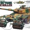 TA35236 1/35 Type 90 Tank w/Mine Roller