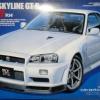 TA24258 NISSAN SKYLINE GT-R(34) 1/24