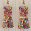 River island Bright Print Playsuit Size uk8