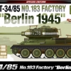 AC13295 T-34/85 No.183 Factory 'Berlin 1945' 1/35