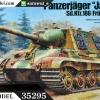 TA35295 German Destroyer Jagdtiger 1/35
