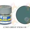 C305 Gray FS-36118 (Gun ship Gray)Semi-Gloss 10ml