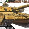 TA35154 British MBT Challenger 1 Mk3 1/35