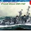 DRA1045 USS FRANK KNOX DD-742 (1/350)
