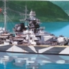 TA78015 Tirpitz German Battleship 1/350