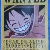 โปสเตอร์ ประกาศจับ Wanted ใหญ่ ( Ver. มังงะ )