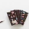 ผ้าคอตต้อนเกาหลีจัดเซต Chocolate Series 5 species ขนาด 27.5x45cm จำนวน 5 ชิ้น (พร้อมส่ง)