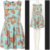 Topshop Floral Dress Size uk10